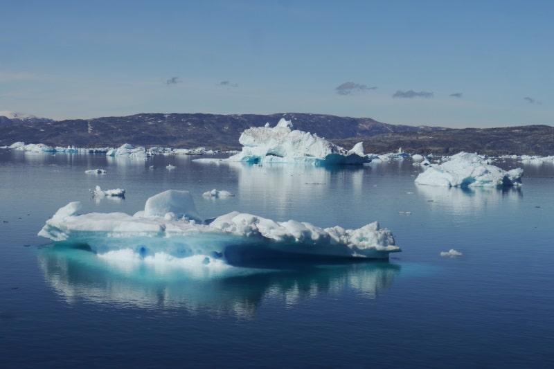 Fjord de Sermilik dans l'est du Groenland