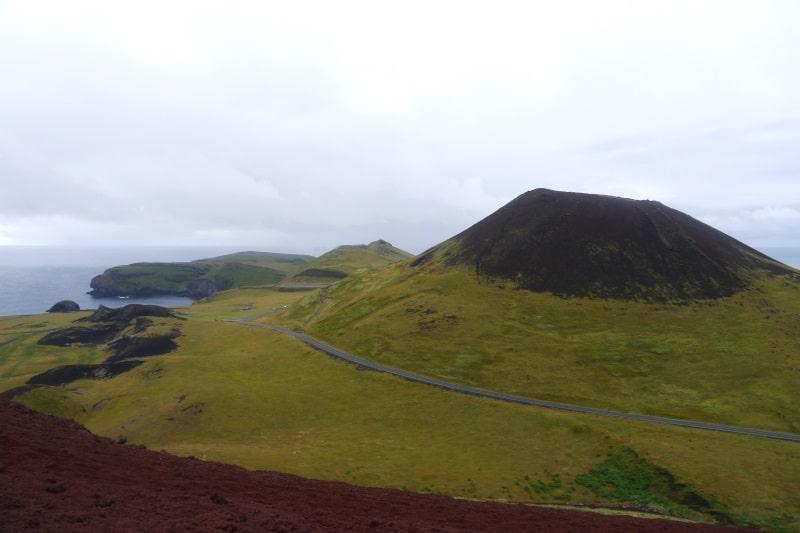 Heimaey et volcan de Helgafell