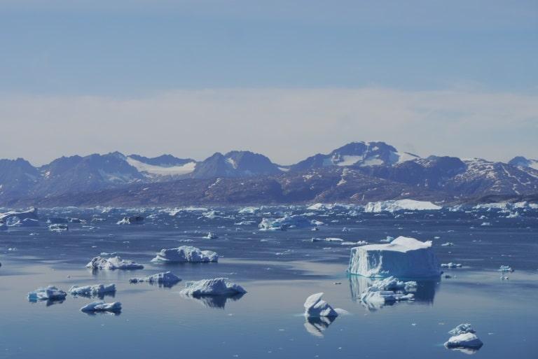 Iceberg du fjord de Sermilik