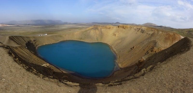 Cratère de Viti de Krafla