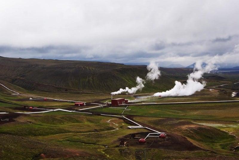 La centrale géothermique du Krafla