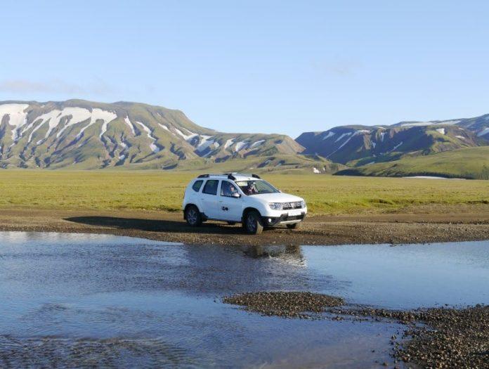 Dacia Duster dans le Landmannalaugar