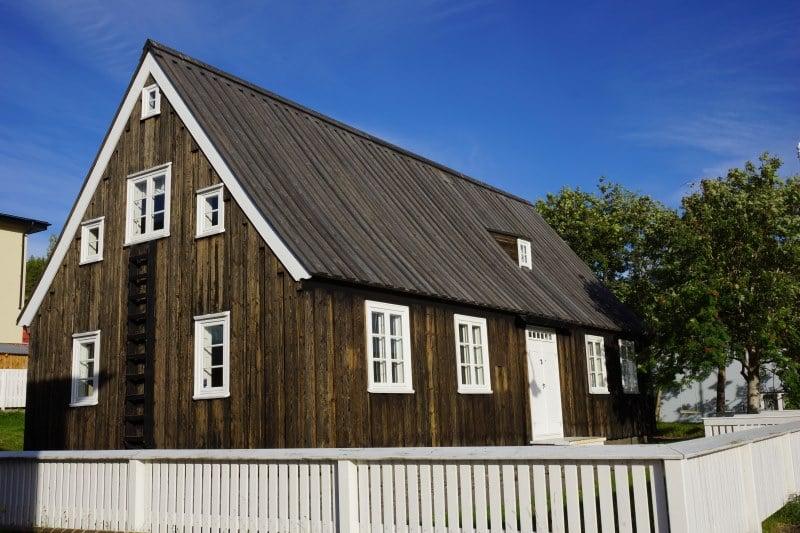 Plus vielle maison d'Akureyri