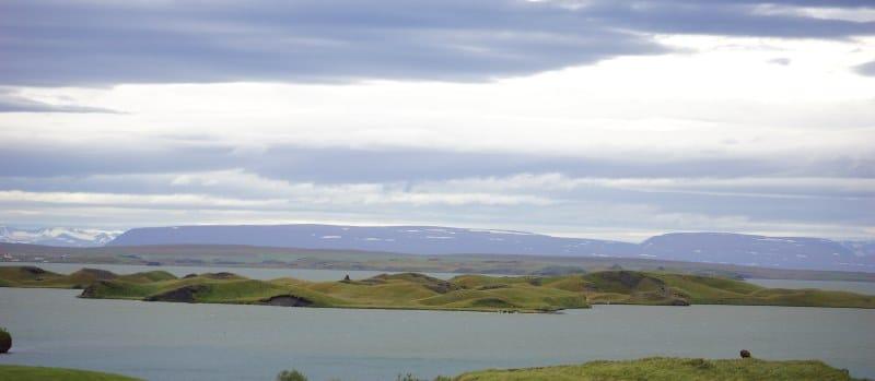 Pseudo cratères Myvatn