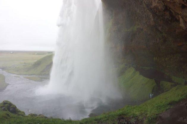 Seljalandsfoss vue du côté