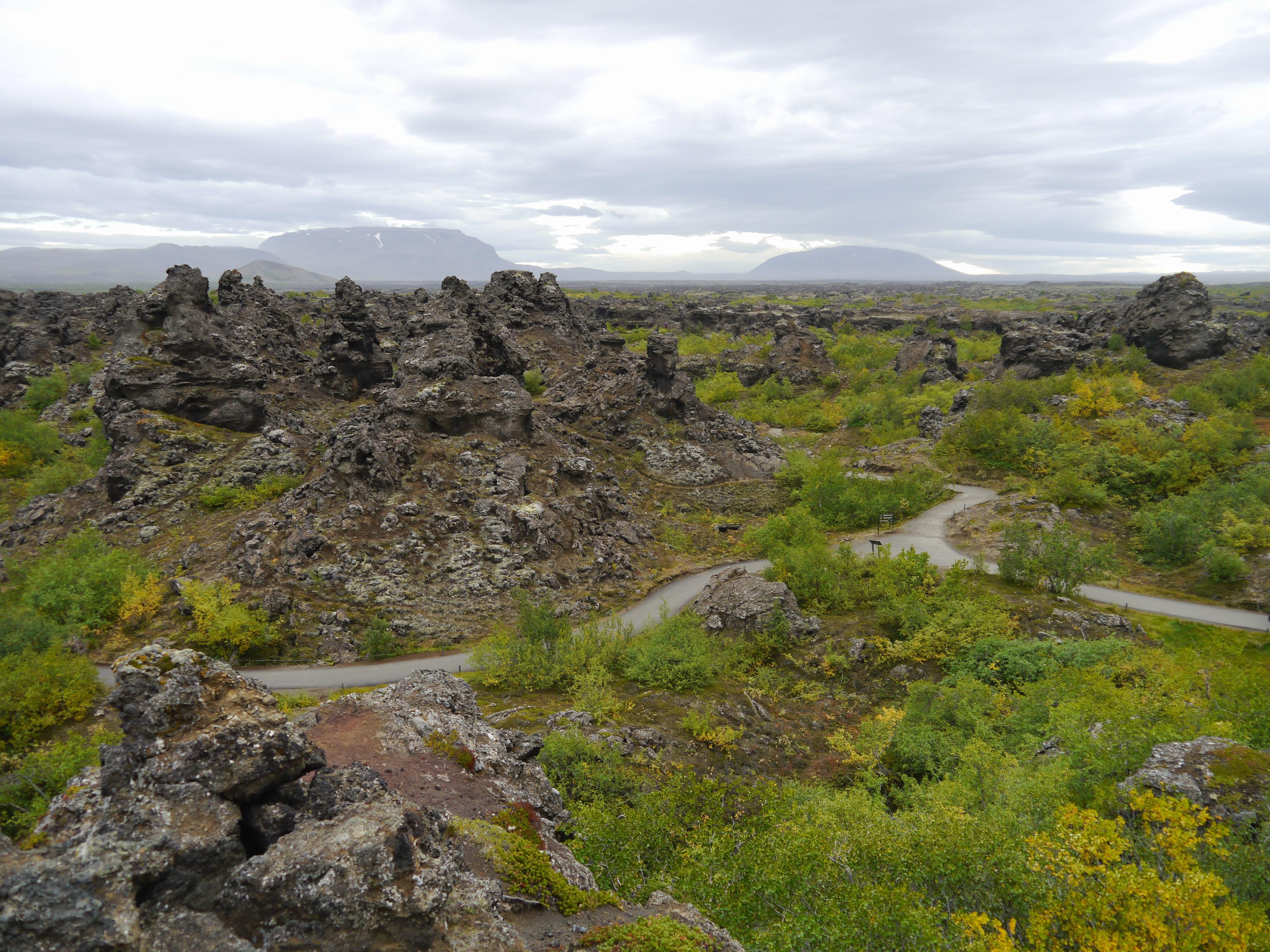 Dimmuborgir près de Myvatn