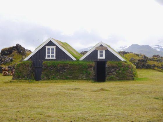 Ferme au nord de Snaefellsjokull