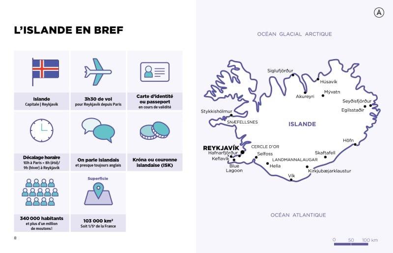 Le Guide Simplissime Hachette Tourisme Islande en bref