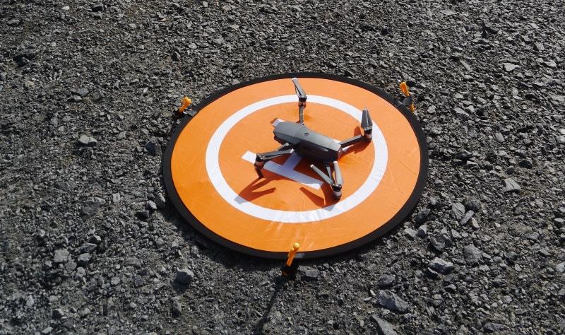 Drone en Islande