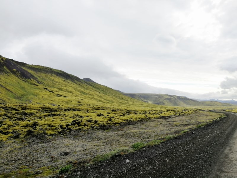 Paysage à côté de Reykjavik