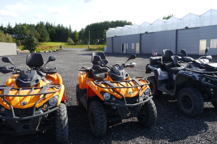 Excursion quad Islande