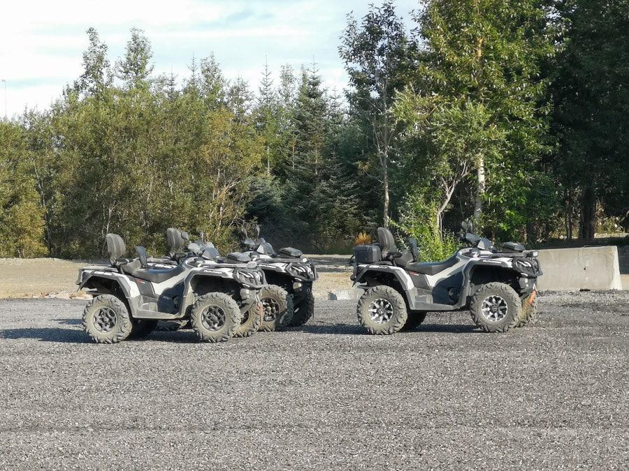 Quad ATV en Islande