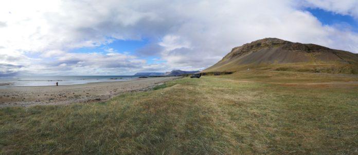 Panorama des Fjords de l'ouest côte sud