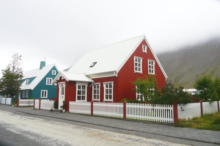 Vielles maisons d'Isafjordur