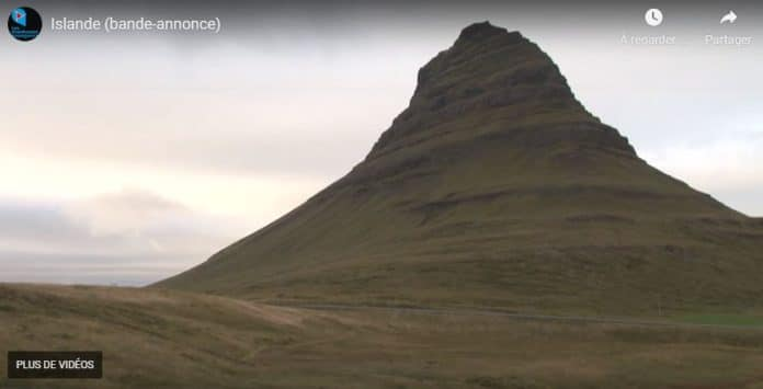 Film de voyages sur l'Islande