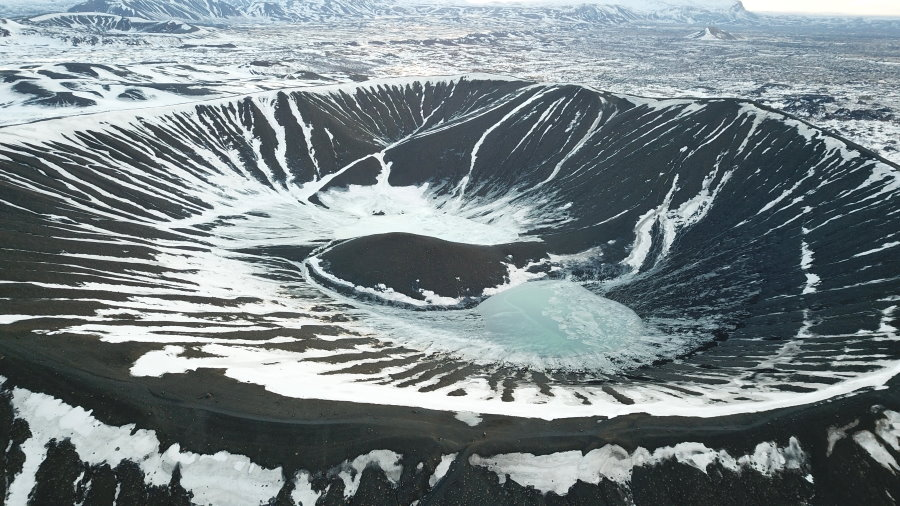 Cratère Hverfjall