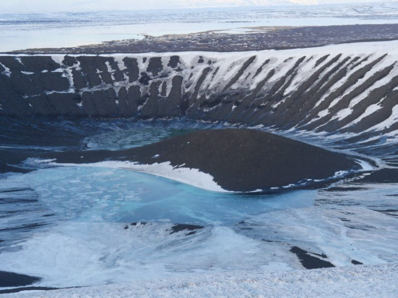 Le volcan Hverfjall