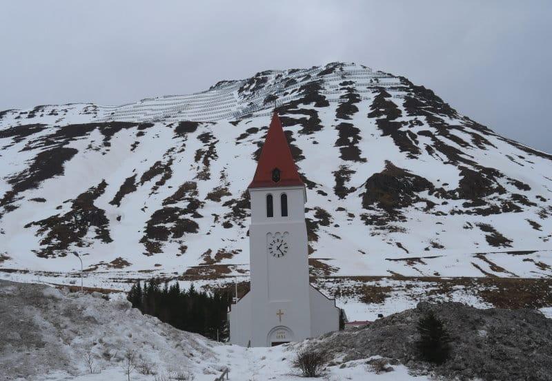 Siglufjordur église