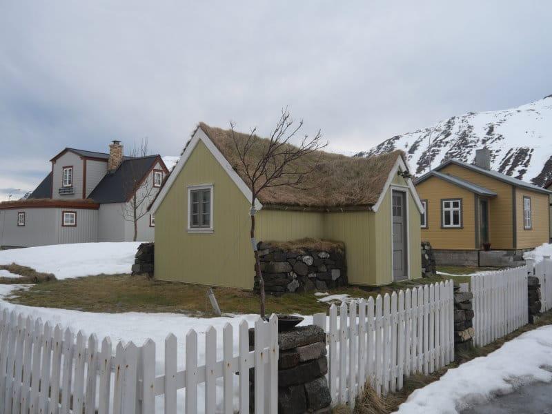 Vielles maisons de Siglufjordur
