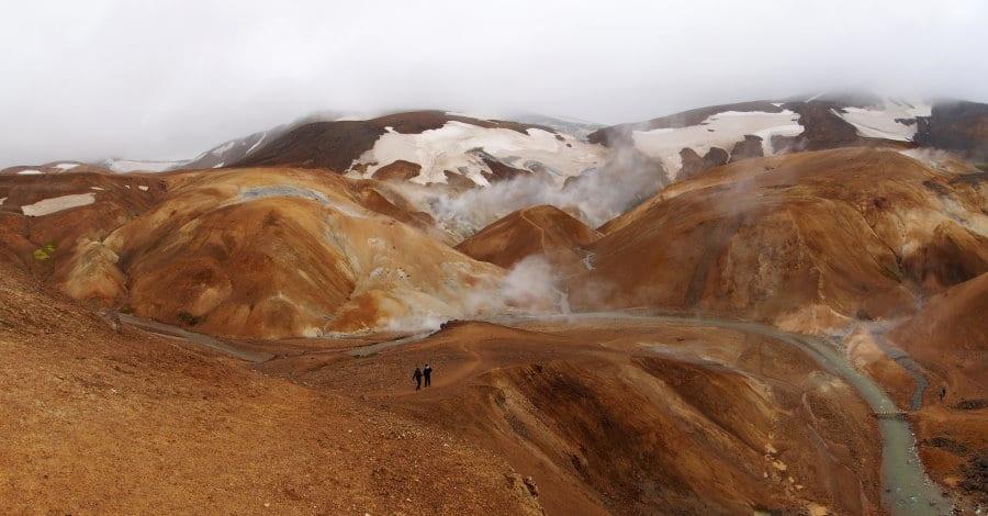 Zone géothermale de Kerlingarfjöll