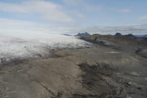 Langjokull langue glaciaire