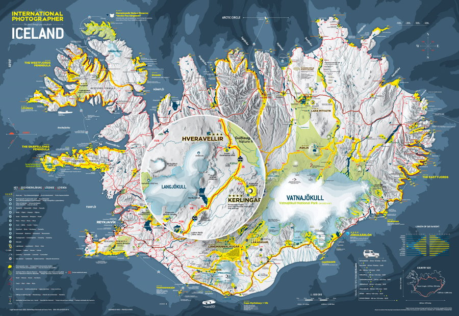 Carte Internation Photographer ICELAND-V4