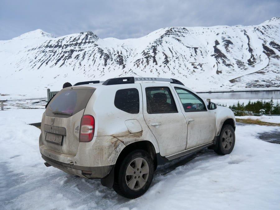 Louer une voiture en hiver