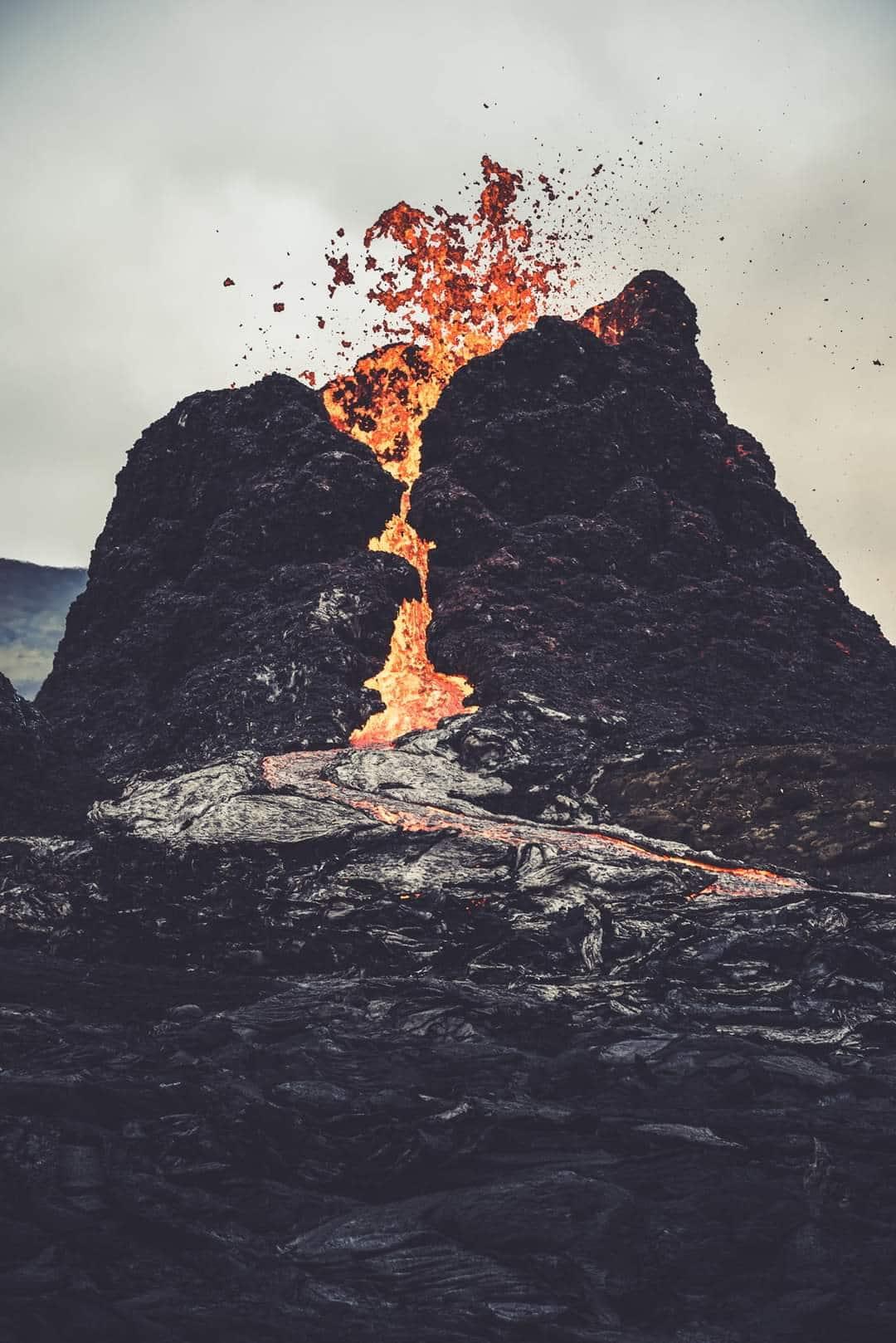 Cratère de Geldingadalur