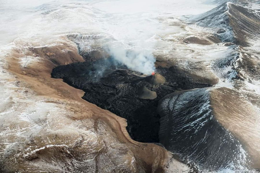 éruption de Geldingadalur