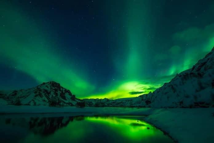 Islande et aurore boréale